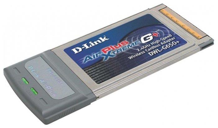 Wi-Fi адаптер D-link DWL-G650+