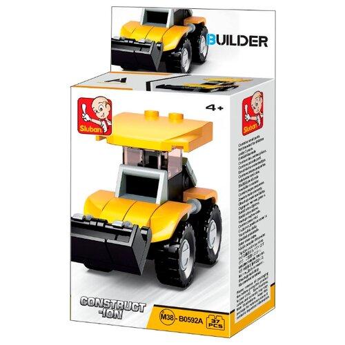 Купить Конструктор SLUBAN Builder M38-B0592A Фронтальный погрузчик, Конструкторы