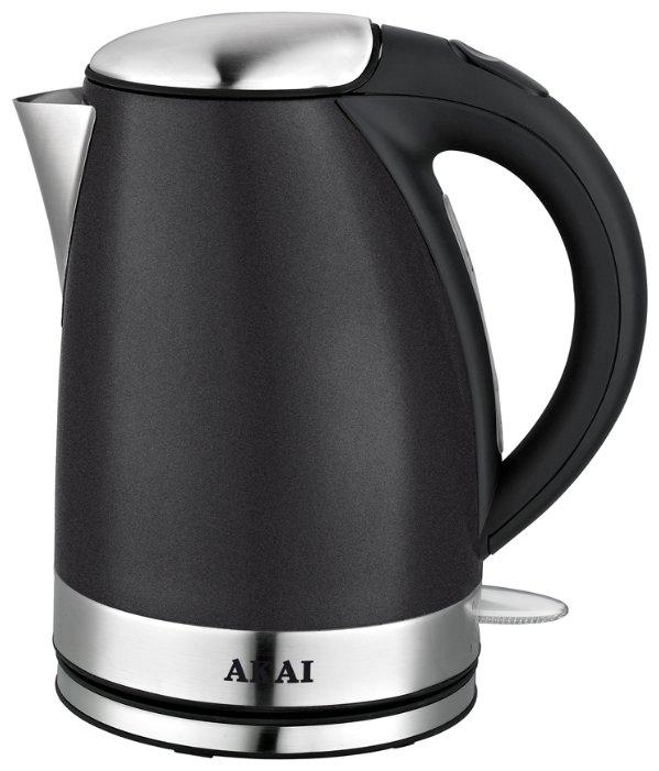 Купить Чайник AKAI KM-1014B, black по низкой цене с доставкой из Яндекс.Маркета (бывший Беру)