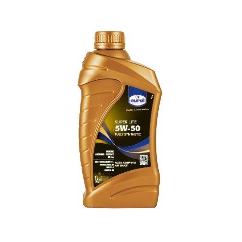 Синтетическое моторное масло Eurol Super Lite SN/CF 5W-50, 1 л по цене 589