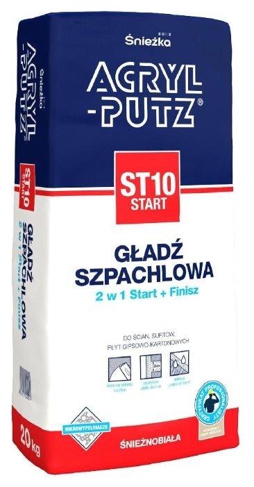 Шпатлевка Sniezka Acryl-Putz Start ST10