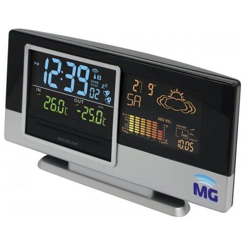 Метеостанция Meteo guide MG 01308 черный / серебристый погодная станция meteo guide mg 01309