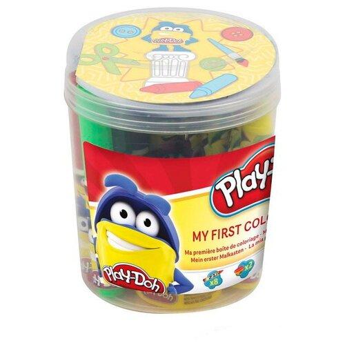 Купить Масса для лепки Play-Doh Первая раскраска (CPDO009), Пластилин и масса для лепки