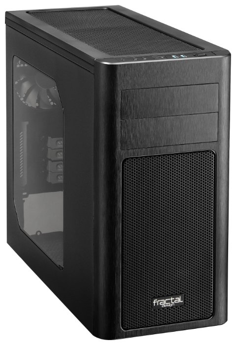 Fractal Design Компьютерный корпус Fractal Design Arc Mini R2 Black