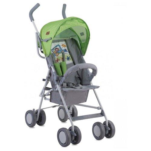 Купить Прогулочная коляска Lorelli Trek green/grey car, Коляски