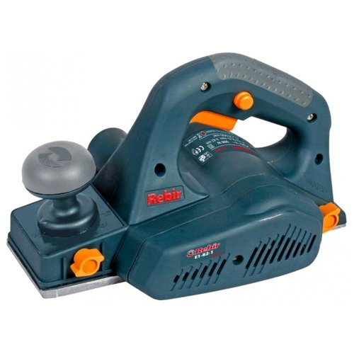 Электрорубанок Rebir E1-82-1 синий/серый
