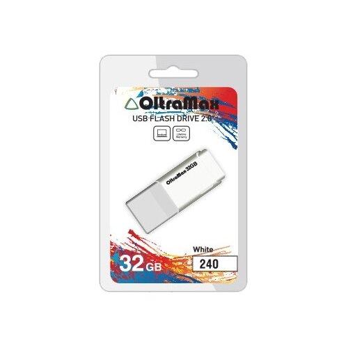 Фото - Флешка OltraMax 240 32GB white флешка oltramax 50 8gb white