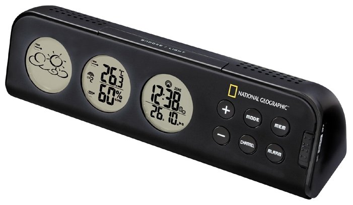 BRESSER National Geographic 3-View Weather Station