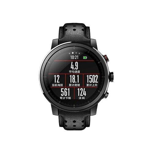 Купить Часы Amazfit Stratos 2s Premium Edition черный