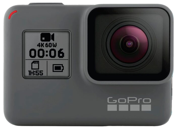 GoPro Экшн-камера GoPro HERO6 Black (CHDHX-601)