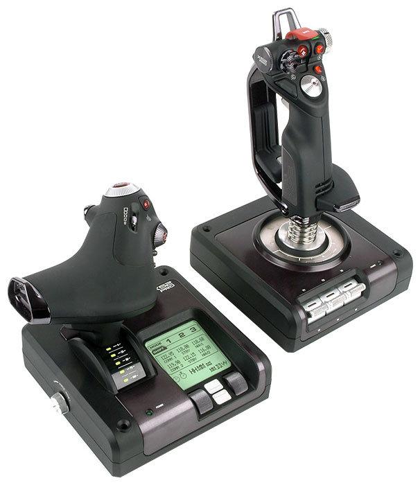 Saitek Джойстик Saitek X52 Pro Flight System