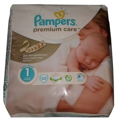 Pampers Premium Care 1 (2-5 кг)