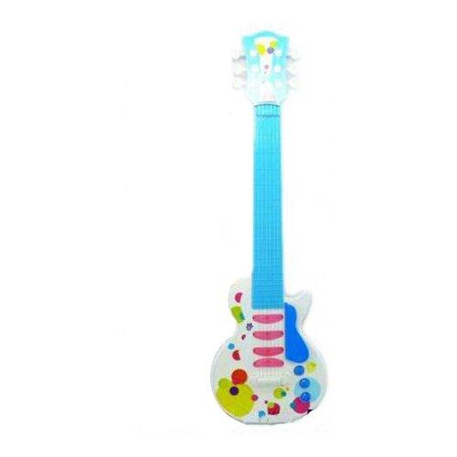 Shantou Gepai гитара 841-9 4 струны белый/голубой/розовый