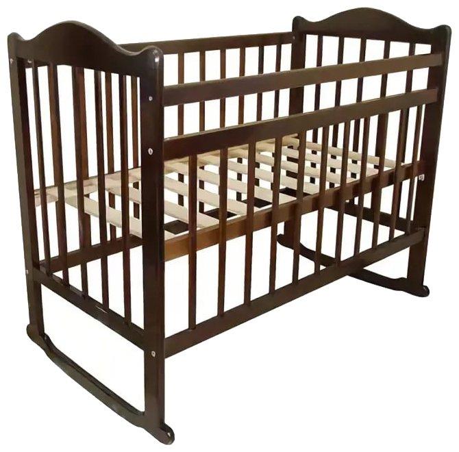 Кроватка Мой малыш 4 (колесо-качалка)