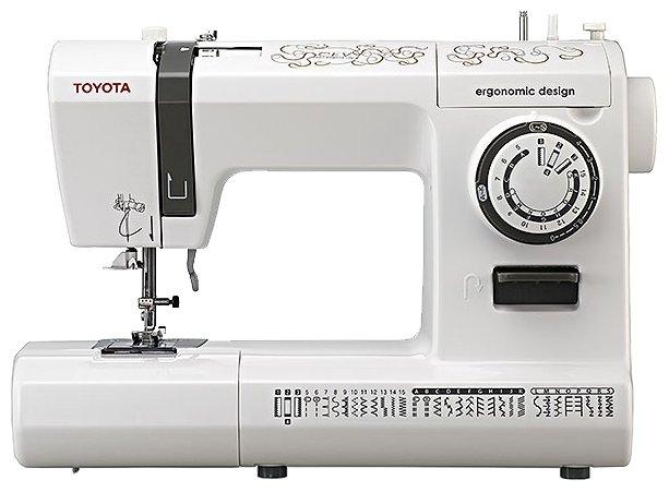 Сравнение с швейная машина Toyota CEV