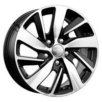 Колесные диски K&K КС741 (ZV 16_Focus New) 6.5x16 5x108 ET50 D63.3 Алмаз черный [арт. 128708]