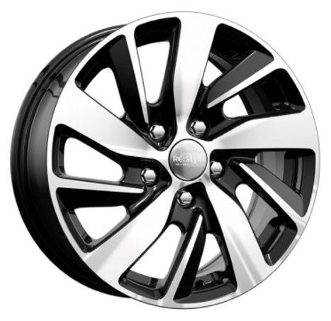 Колесный диск K&K КС741 6.5x16/5x114.3 D67.1 ET46 алмаз черный