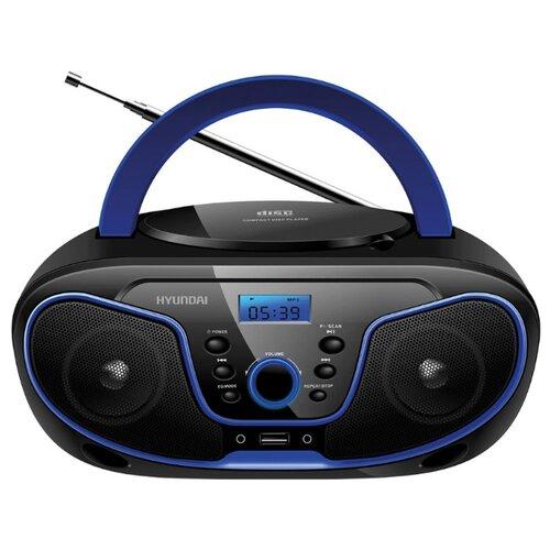 Магнитола Hyundai H-PCD140/H-PCD160/H-PCD180 черный/синий
