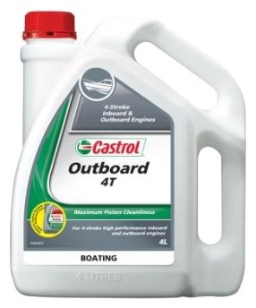 Моторное масло Castrol Outboard 4T 10W-30 4 л