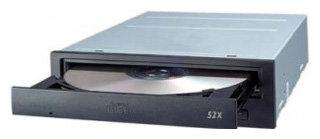 Оптический привод BenQ CD 652A Black