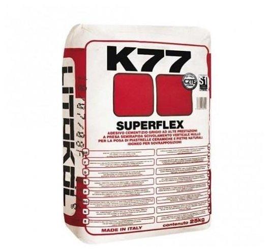 Клей Litokol Superflex K77 25 кг