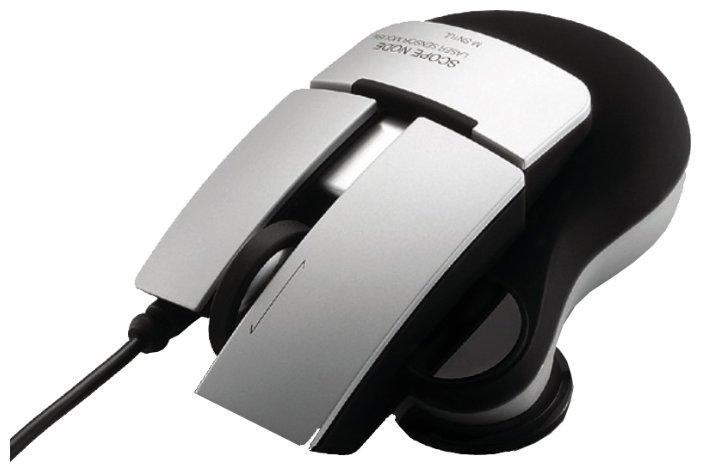 Мышь Elecom SCOPE NODE M-SN1ULSV2 Matte Silver USB