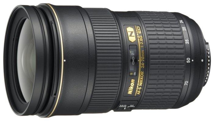 Объектив Nikon 24-70mm f/2.8G ED AF-S Nikkor