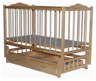 Кроватка Bambini Bambini Плюс (с ящиком) (классическая)