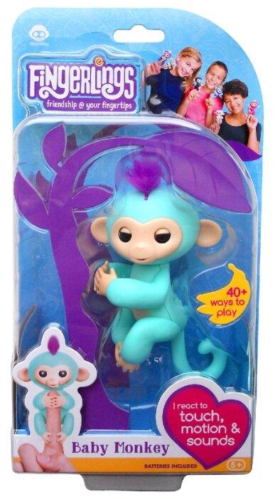 Интерактивная игрушка робот WowWee Fingerlings Ручная обезьянка