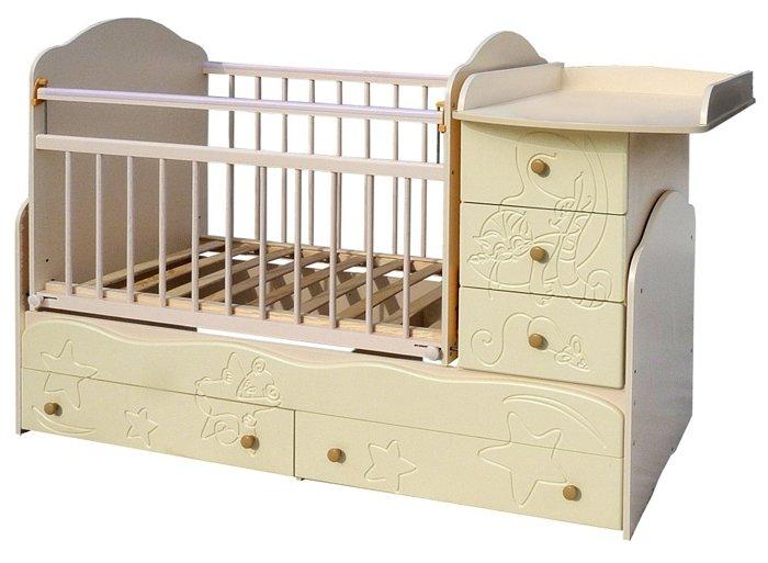 Кроватка Сафаня Кровать 3 (трансформер)