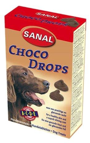 Лакомство для собак Sanal Choco Drops