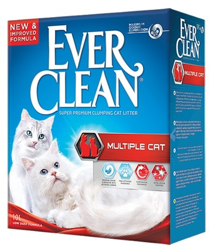 Наполнители EVER CLEAN Multiple Cat 10 л