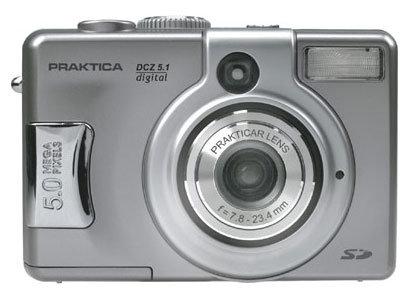 Фотоаппарат Praktica DCZ 5.1