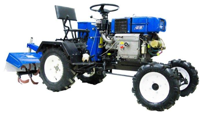 Мини-трактор Скаут M12DE