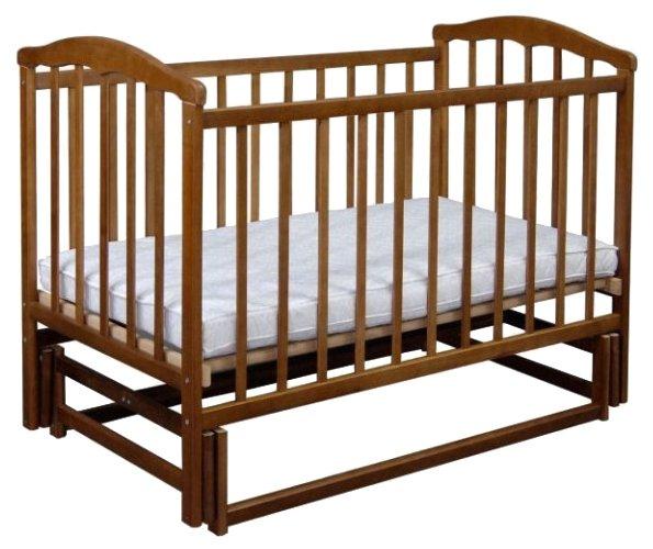 Кроватка Ласка-М Чайка (маятник, без ящика)