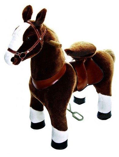Поницикл Ponycycle Лошадка Белое копытце Ночка средний (4182) со звуковыми эффектами