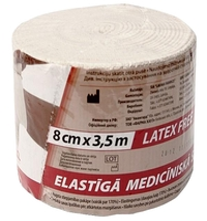 Бинт эластичный медицинский Lauma Medical Модель 2 (3,5 м х 8 см)