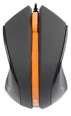 Мышь A4Tech D-311 DustFree HD Mouse Black-Orange USB