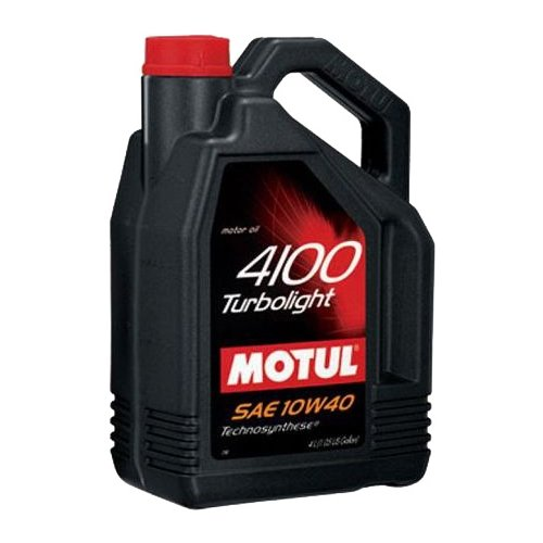 цена на Моторное масло Motul 4100 Turbolight 10W40 4 л
