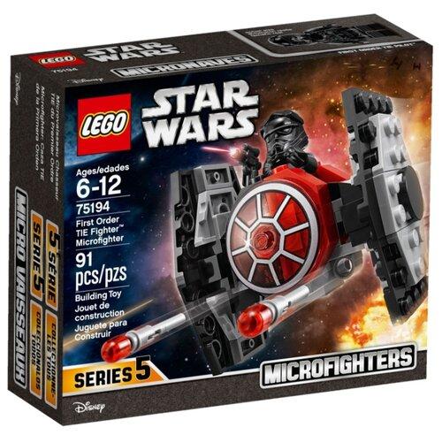 Купить Конструктор LEGO Star Wars 75194 Микрофайтер Истребитель СИД Первого Ордена, Конструкторы