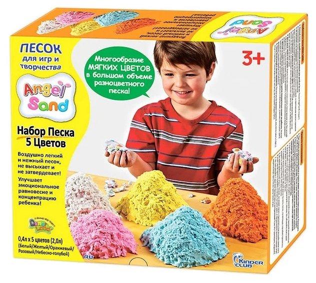 Набор песка для игры и творчества