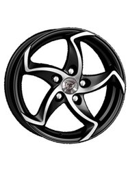 NZ Wheels F-17 6.5x16 5x108 ET 50 Dia 63.3 BKF - фото 1