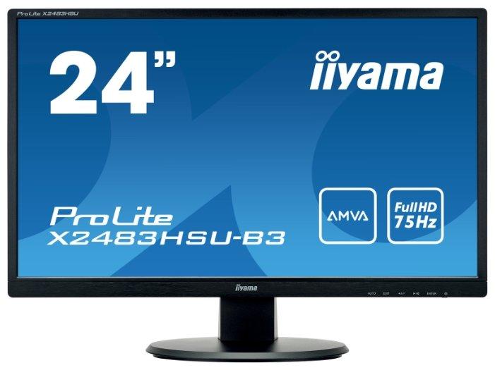 Iiyama Монитор Iiyama ProLite X2483HSU-B3