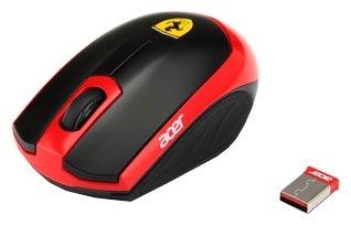 Мышь Acer Ferrari Motion Black-Red USB