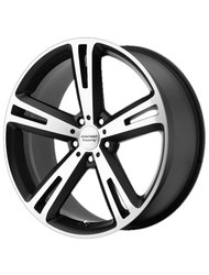 American Racing 8,5x20/5x112 ET38 D72,62 AR885 Black/Machined - фото 1