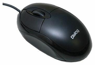 Dialog MOP-00BP Black PS/2