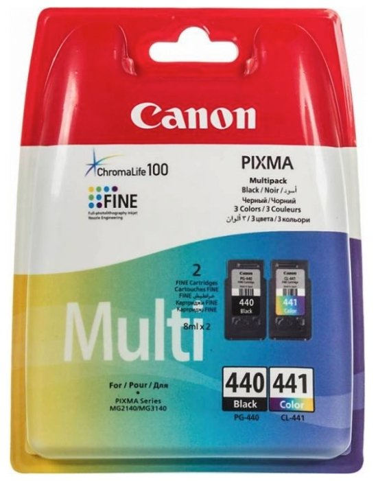 Картридж Canon PG-440/CL-441 Multipack (5219B005)