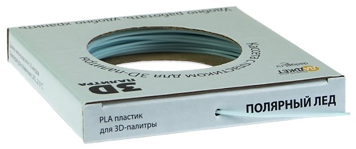 PLA пруток Даджет 1.75 мм голубой