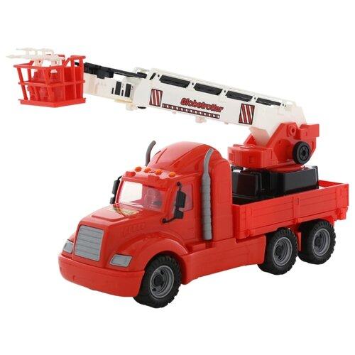 Пожарный автомобиль Wader Майк (55620) 82 см красный машины wader базик автомобиль пожарный