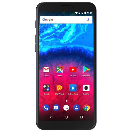 Смартфон Archos Core 55S синий inonler зеленый iphone 55s